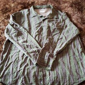 Columbia long sleeve button down shirt